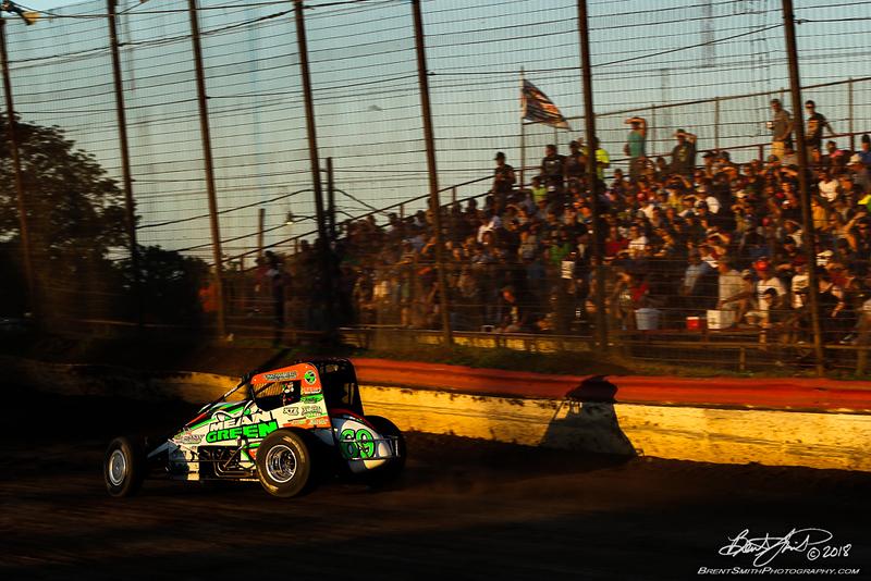 Jesse Hockett Classic - USAC AMSOIL National Sprint Car Championship - Grandview Speedway - 69 Kevin Thomas Jr.