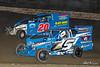 Grandview Speedway - 5 Jack Butler, 20 Derrick Smith