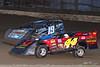 Grandview Speedway - 44 Danny Snyder, 19 Drew Weisser