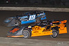 Grandview Speedway - 19 Drew Weisser, 1 Chuck Schutz