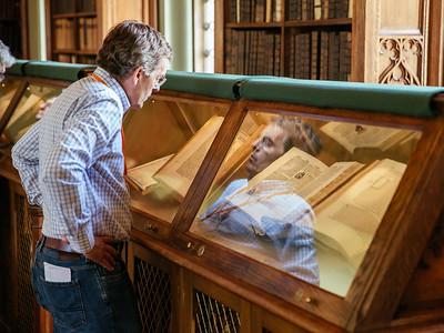 Looking at manuscripts