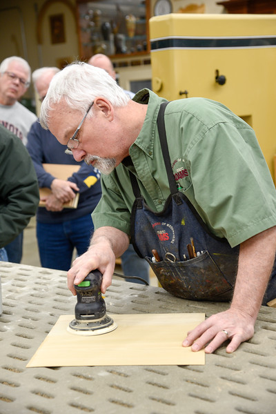 Hands-On finishing with Mitch Kohanek
