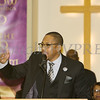 Rev. Weldon McWilliams, IV was the keynote speaker for the Dutchess County African American Clergy Association's 49th Annual Commemorative Service on Sunday, January 14, 2018 at Beulah Baptist Church in Poughkeepsie, NY. Hudson Valley Press/CHUCK STEWART, JR.