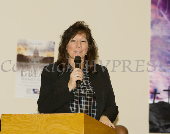 New York State Senator Sue Serino offers remarks during the Dutchess County African American Clergy Association's 49th Annual Commemorative Service on Sunday, January 14, 2018 at Beulah Baptist Church in Poughkeepsie, NY. Hudson Valley Press/CHUCK STEWART, JR.
