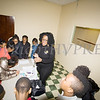 Malinda Ware leads a workshop for 3rd-5th graders as the Black History Committee of the Hudson Valley held its 49th Annual Martin Luther King Jr Celebration on Monday, January 15, 2018 at First United Methodist Church in Newburgh, NY. Hudson Valley Press/CHUCK STEWART, JR.