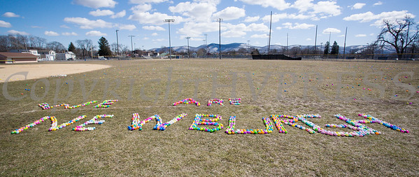 Over 10,000 eggs were ready for the kids as We Are Newburgh and the City of Newburgh held the Annual Easter Egg Hunt at the Activity Center on Saturday, March 24, 2018. Hudson Valley Press/CHUCK STEWART, JR.