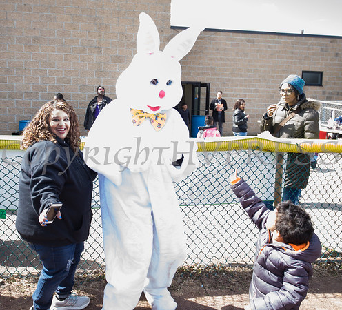 The Easter Bunny was a huge hit as We Are Newburgh and the City of Newburgh held the Annual Easter Egg Hunt at the Activity Center on Saturday, March 24, 2018. Hudson Valley Press/CHUCK STEWART, JR.