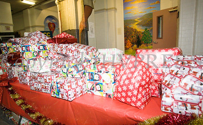 Toys were ready for distribution at the Hudson River HealthCare sponsored Three Kings Day celebration on Saturday, January 6, 2017 at the Family Partnership Center in Poughkeepsie, NY. Hudson Press/CHUCK STEWART, JR.