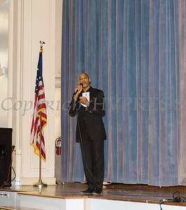 HRHCare Director of Hispanic Affairs Wilfredo Morel offers the welcome for the Hudson River HealthCare sponsored Three Kings Day celebration on Saturday, January 6, 2017 at the Family Partnership Center in Poughkeepsie, NY. Hudson Press/CHUCK STEWART, JR.