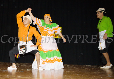 Danza Colombiana, Huellas de Mi Tierra performs as part of the Hudson River HealthCare sponsored Three Kings Day celebration on Saturday, January 6, 2017 at the Family Partnership Center in Poughkeepsie, NY. Hudson Press/CHUCK STEWART, JR.