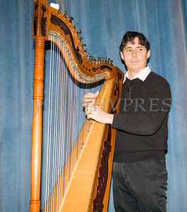 Nicolas Carter performed a musical journey of Latin America with the Paraguayan Harp as part of the Hudson River HealthCare sponsored Three Kings Day celebration on Saturday, January 6, 2017 at the Family Partnership Center in Poughkeepsie, NY. Hudson Press/CHUCK STEWART, JR.