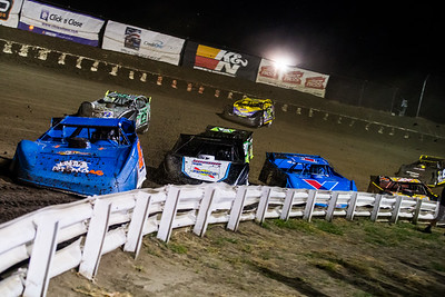 Dennis Erb, Jr. (28), Chase Junghans (18), Brandon Sheppard (1), Jimmy Owens (20), Chad Simpson (25), Shane Clanton (25), Billy Moyer (21) and Jason O'Brien (15J)