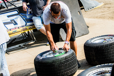 Lucas Oil Late Model Dirt Series tire tech