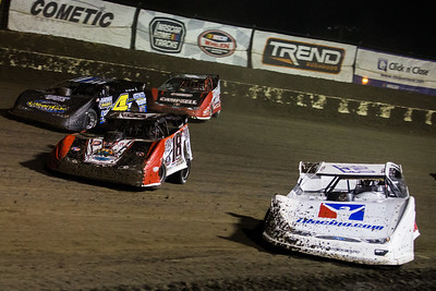 Darrell Lanigan (14), Shannon Babb (18), JC Wyman (4) and Bobby Pierce (32)