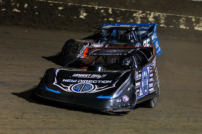Scott Bloomquist (0) and Mason Zeigler (25Z)