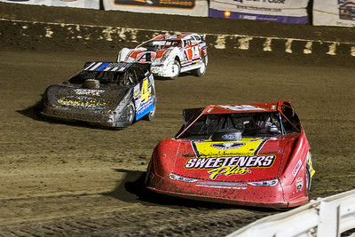 Tim McCreadie (39), JC Wyman (4) and Kyle Berck (14B)