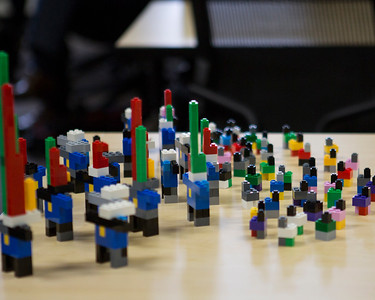 Stuart Flack discusses his approach to data performance by using Legos.