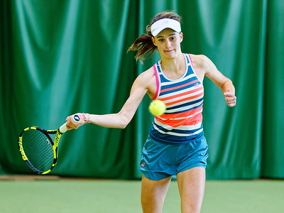 02 Juline Fayard - ITF Heiveld junior indoor open 2018