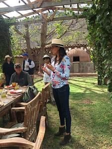 Lunch at Hacienda Sarapampa - Kimberly Collins