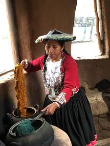 Wool demonstration - Kimberly Collins