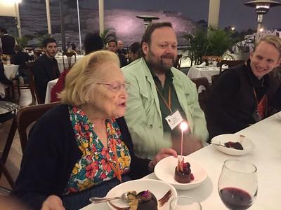 Celebrating Marjean's birthday - Victor Colunga