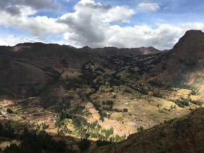 View from the Pisac Ruins - Kimberly Collins