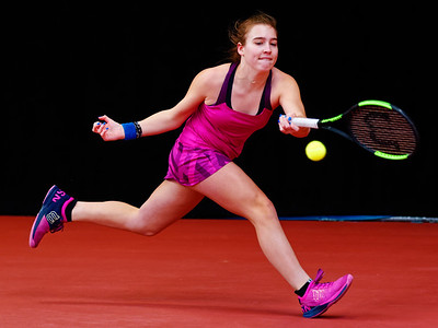 01.05b Carolina Kuhl - Intime Tennis Direct Junior Open 2018