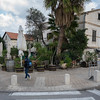We walked into a part of old Haifa called the German Colony
