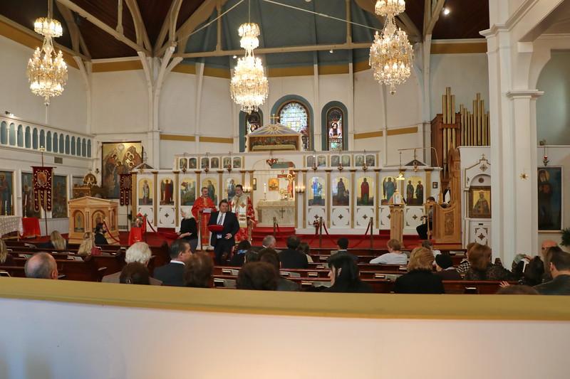 St. Catherine Liturgy