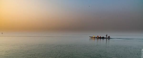 Starting a new Day -  Sunrise at Pulicat Lake