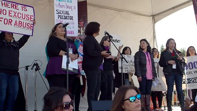 Rally:  Gender-Based Violence Coalition (camera 2, part 6)