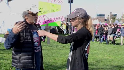 K18-001 - SJC Womans March 2018 - interview 3 - R2. Steve.Alvin