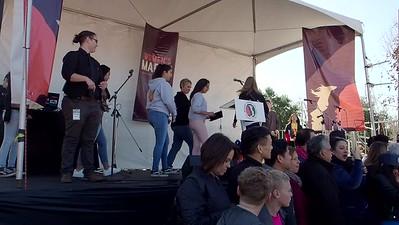 Rally:  Downtown College Prep, Salamanca (camera 2, part 3)