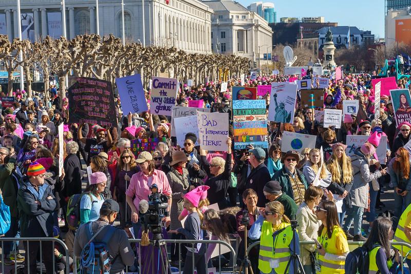 Womens March - SF - Steve Disenhof-99