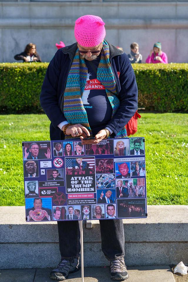 2018 San Francisco Women's March - Doug Kaye - 7152