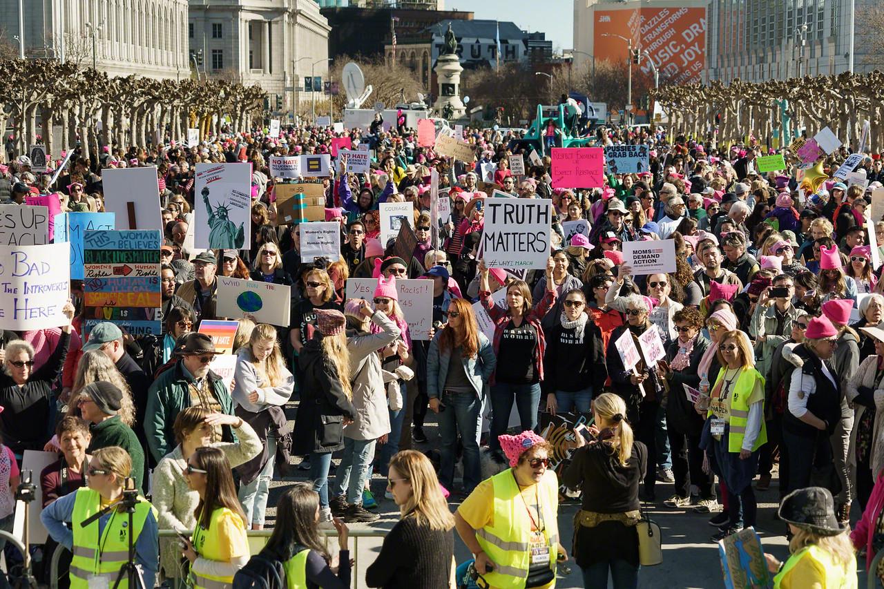 2018 San Francisco Women's March -Doug Kaye - 7174
