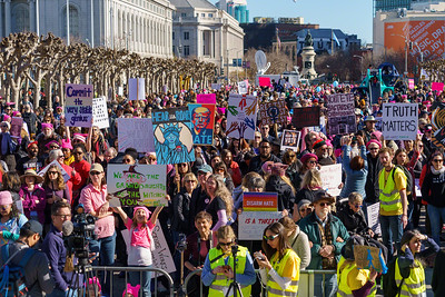 2018 San Francisco Women's March - Doug Kaye - 7164