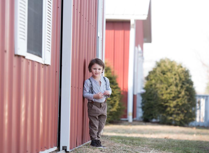 Side of birthday barn