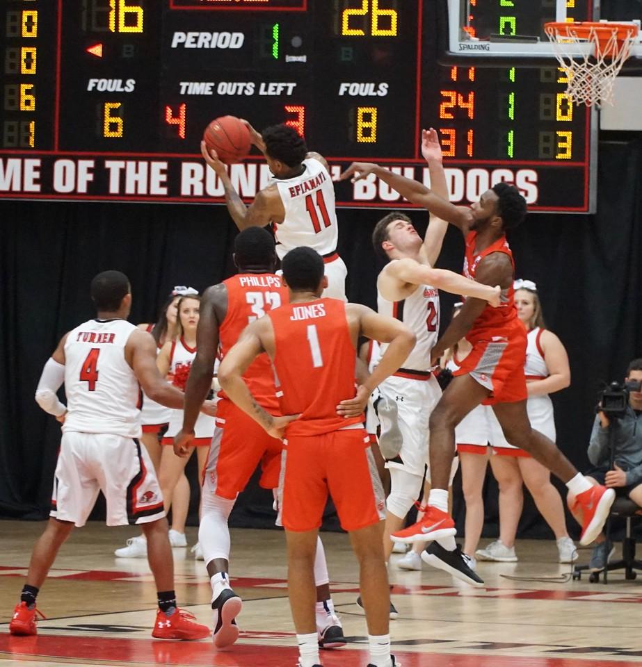 Basketball V. Radford