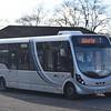Arriva Wright Streetlite HRZ6498 0448 (former Bus Vannin KMN121H 121) at Neath Hill, Milton Kynes, on the 7 to Wolverton, 18.01.2018.