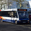 Stagecoach Optare Solo KX57KFZ 47518 in Milton Keynes on the X89 from Northampton, 19.01.2018.