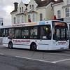 Hedingham ADL Enviro 200 OU57FGZ 294 in Clacton-on-Sea on the 137, 03.01.2018.