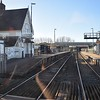 Ridgmont station on the Bletchley-Bedford Marston Vale Line, taken from the no. 34 bus, 19.01.2018.