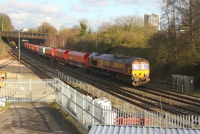 66194 Basingstoke 30/01/18 6Z65 Acton to Eastleigh