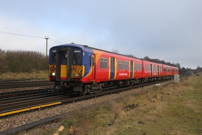5716 Worting Junction 10/01/18 5B39 Wimblendon to Bournemouth