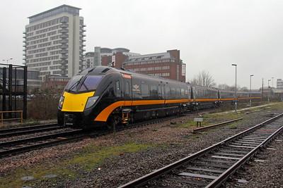 180108 Basingstoke 02/01/18 5E80 Eastleigh to Bounds Green