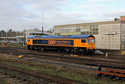 66782 Basingstoke 22/01/18 0Y63 Eastleigh to Hoo Junction