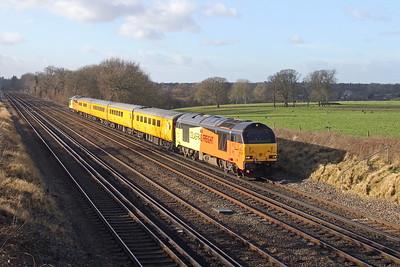 67023 Potbridge 17/01/18 1Q53 Eastleigh to Eastleigh