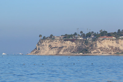 Rocky Point with the wreck of the Dominator still visible.