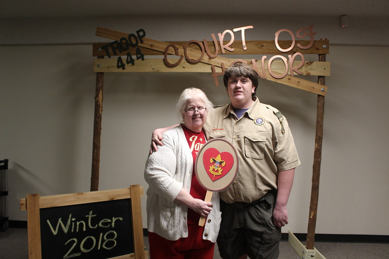 2018 Winter Court of Honor